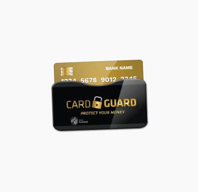 Badge4u – Cardguard – Etui nakartę – Blokada fal RFID