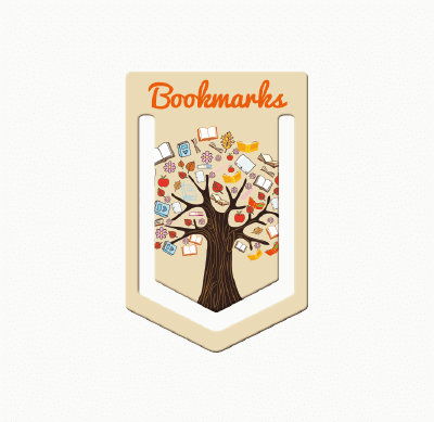 Badge4u – Kartonik – Zakładka do książek