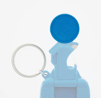 Badge4u – Keychain 5w1 – Moneta dowózka