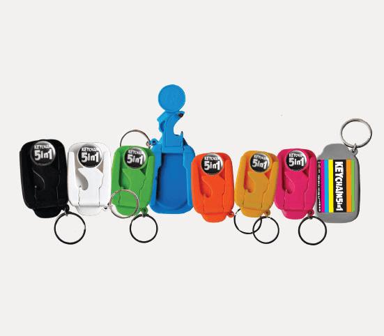 Badge4u – Keychain 5w1 – Otwieracz dobutelek