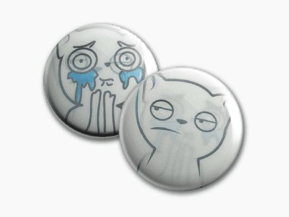 Badge4u – Znaczek – Druk lentikularny