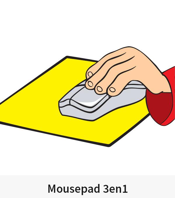 Mousepad 3en1