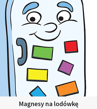 Magnesy nalodówkę